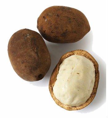 Le beurre blanc de cupuaçu bio, épais, très bon pour la peau et les cheveux.